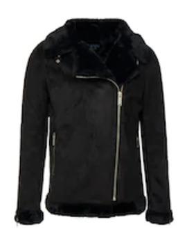 Lined Aviator Jacket   Jacka I Konstläder by Boohoo Man