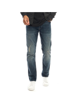 Only & Sons Mens Weft Pa Regular Fit Jeans Medium Blue Denim by Only & Sons