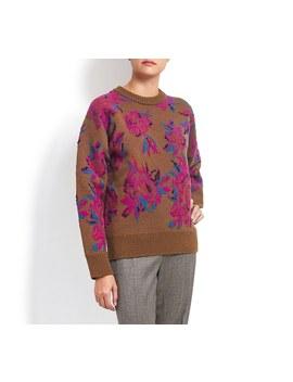 Peonies Sweater by Salvatore Ferragamo