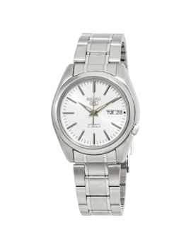 Series 5 Automatic White Dial Men's Watch by Seiko