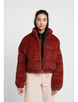 Fluffy Cord Puffer   Giacca Invernale by Bdg Urban Outfitters