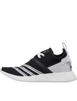Adidas Originals X White Mountaineering Nmd R2 Primeknit Trainers Core Black/Footwear White/Footwear White by Adidas Originals