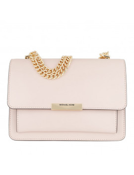 Jade Large Gusset Shoulder Bag Soft Pink by Michael Kors