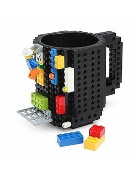 1 Pc 12oz Build On Brick Mug Type Building Blocks Coffee Cup Diy Block Puzzle Mug by Wish