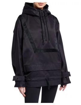 Hooded 1/4 Zip Anorak Jacket by Reebok By Victoria Beckham