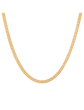 Double Curb Chain Necklace by Mejuri