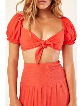 Crush On Me Top Red by Perfect Stranger