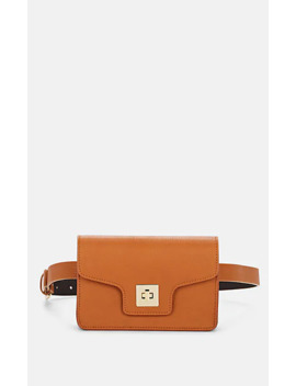 Convertible Leather Belt Bag by Barneys New York