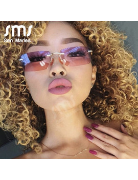 Vintage Small Square Frame Sunglasses Women 2019 New Luxury Brand Rectangle Fashion Gradient Sun Glasses Retro Shades Uv400 by Ali Express.Com