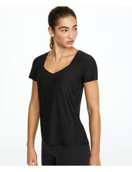 Camiseta Mesh Escote V by Oysho