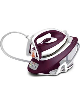 Express Compact Anti Scale Sv7120 Steam Generator Iron   Purple & White by Currys