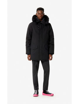 Long Hooded Parka by Kenzo