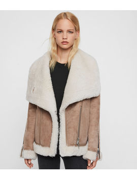 Harlow Shearling Jacket by Allsaints