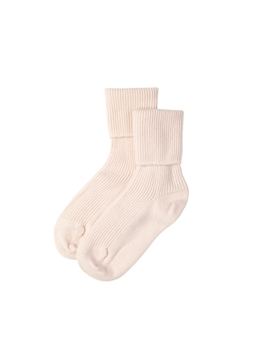 Blush Womens Cashmere Socks by Johnstons Of Elgin
