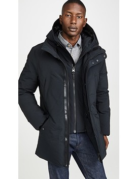 Hip Length Down Winter Edward Parka Without Fur by Mackage