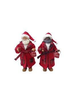 "Assorted 10.5"" Santa With Robe By Ashland® by Ashland"