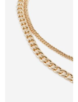 **Chunky Belly Chain by Topshop