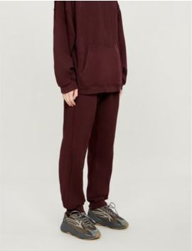 Season 5 Cotton Jersey Jogging Bottoms by Yeezy