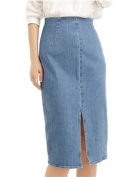 Minimalist Pencil Skirt by Jcrew