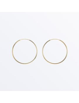 14 K Gold Hoop Earrings     Large Hoops              Regular Price        $89 by Ana Luisa
