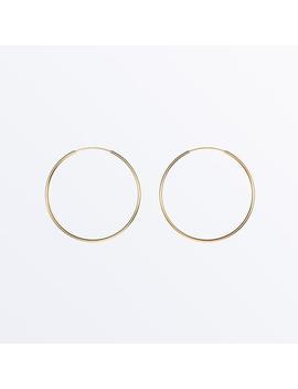 14 K Gold Hoop Earrings    Large Hoops              Regular Price        $89 by Ana Luisa