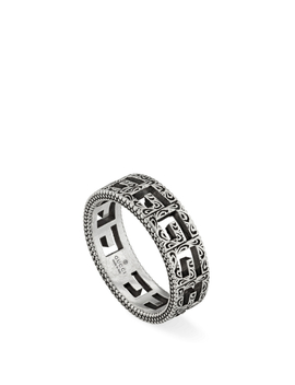 Square G Silver Ring by Holt Renfrew