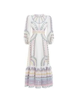 Peggy Multi Long Dress by Zimmermann