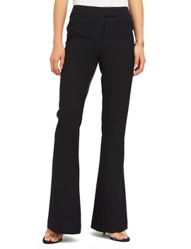 Woven Fit & Flare Pants by Suzy Shier