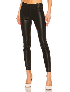 Pussy Cat Vegan Leather Legging In Pussy Cat by Blanknyc