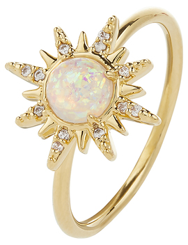 Opal Star Ring by Accessorize
