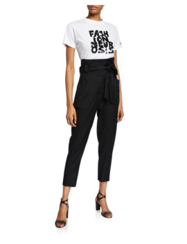 Paxi Paperbag Trousers by Iro