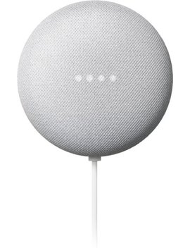Nest Mini (2nd Generation) With Google Assistant   Chalk by Google