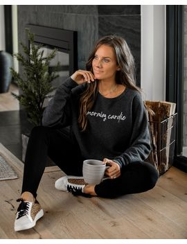 Morning Cardio, Evening Carbs Reversible Sweatshirt by Vici