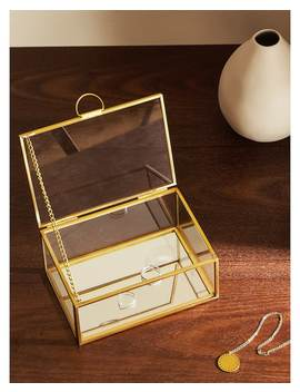 Glazen En Metalen Doos  Dozen   Decoratie   Woonkamer by Zara Home