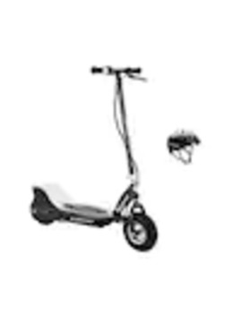 Razor E325 Electric Rechargable 24 V Black Scooter And V17 Youth Helmet, Black by Lowe's