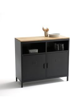 Hiba 2 Door Kitchen Cabinet by La Redoute Interieurs