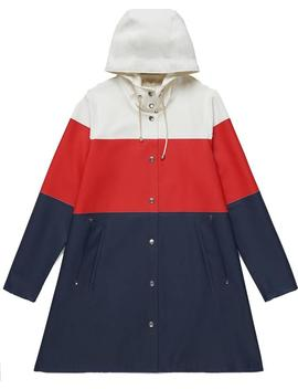 Mosebacke Stripe Raincoat   Women's by Stutterheim