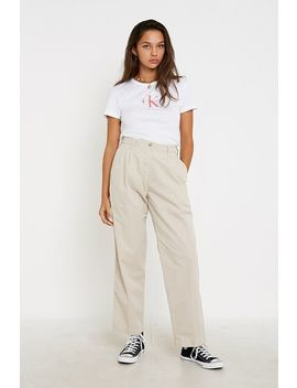 Calvin Klein Jeans Relaxed Chino Trousers by Calvin Klein