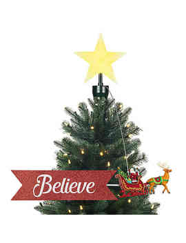 Mr. Christmas® Santa Sleigh Animated Tree Topper by Bed Bath And Beyond