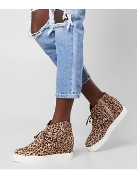Leopard Wedge Shoe by Very G
