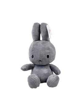 Corduroy Grey Miffy   Large Corduroy Grey Miffy   Large by Miffy