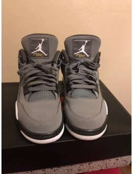 Air Jordan 4 Retro Cool Grey by Jordan Brand  ×