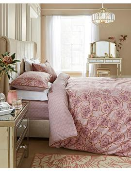 Bailey Floral Printed Duvet Cover Set by Simply Be