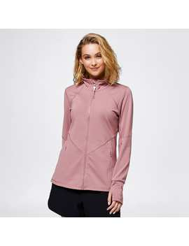 Active Zip Through Jacket   Dusk Pink by Target