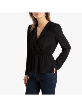 Blouse With Blazer Style Collar by La Redoute Collections
