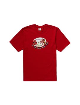 Supreme It Gets Better Every Time Tee Red by Stock X
