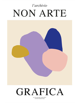70 X 100cm Paper Non Arte Grafica 01 Art Print70 X 100cm Paper Non Arte Grafica 01 Art Print by The Poster Club