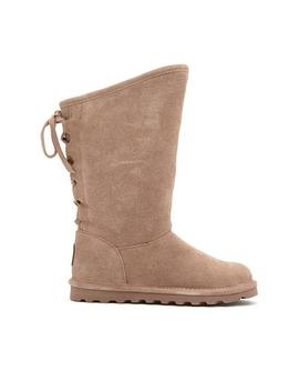 Bearpaw® Phylly Suede Laced Back Boot With Never Wet™ by Bearpaw