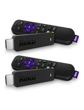 """<Span Class=""""Callout Exclusive"""">Exclusive!</Span>                  Roku Stick 2pk Media Streamers W/Voice Search, Tv Controls &Amp; Vouchers by Roku"""