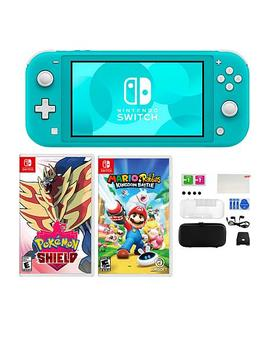 """<Span Class=""""Callout Exclusive"""">Exclusive!</Span>                  Nintendo Switch Lite With Pokemon Game And Accessories by Nintendo"""